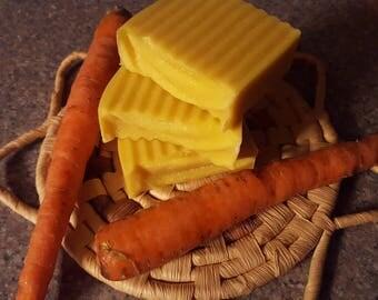 Carrot Soap for Sensitive Skin