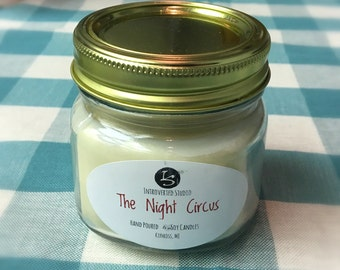 The Night Circus (8 oz. Jar) Soy Candle