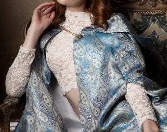 Blue Fashion Cape SALE