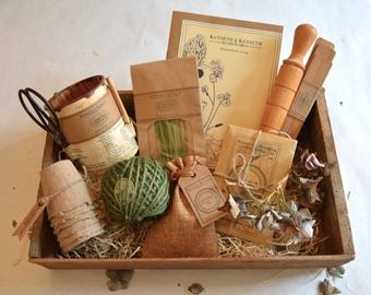 The Green Fingers Tidy Garden Collection // Gardener Gift // Gift Set // Gifts for Him // Gifts for Her //