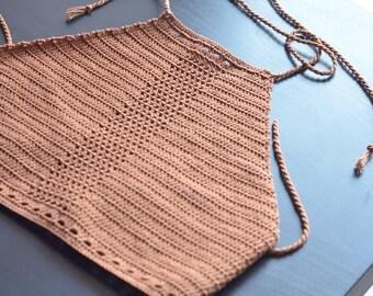 Top crochet summer