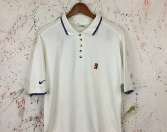 SALE 25% Vintage Nike ATP Challenge Court Polo Shirt Size L