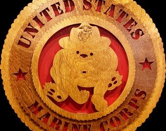 "12"" United States Marine Corps Devil Dog"