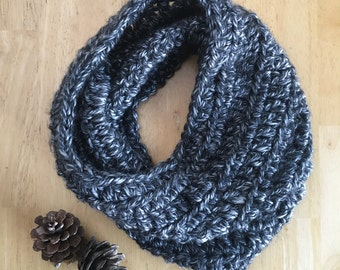 Cozy Cowl Scarf | Granite | Readt to Ship!