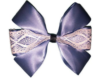 Alice Inspired Hair Bow