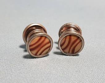 Vintage Pair of Kum-A-Part Cuff Links