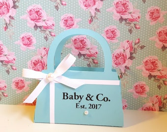 Baby and Co./ Bridal and Co./Tiffany & Co. Inspired Party Favors Purse