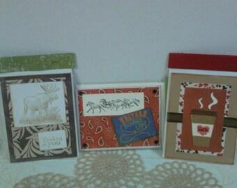 Greeting Cards-Handmade Blank Inside