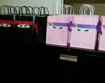 Ninja Favor Bags