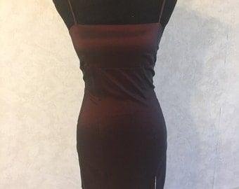 Burgundy Juno Dress
