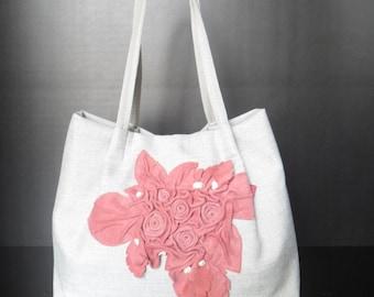 Women Handbag -mod.22 rose