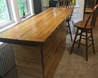 Reclaimed Barnwood Bar