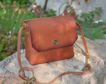 leather satchel, Leather purse, leather crossbody bag, womens bag, leather shoulder bag, Leather bag. Small. Leather shoulder bag.