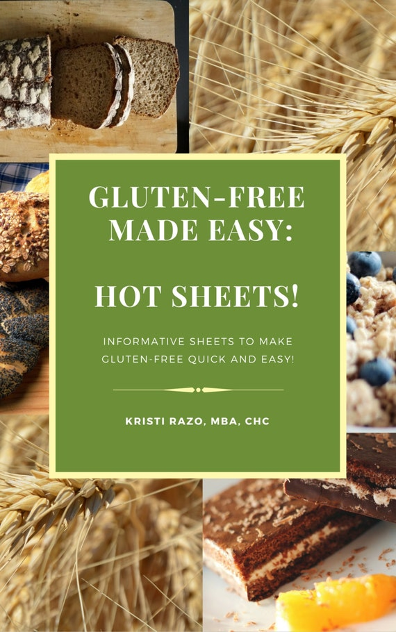 Gluten-free Made Easy: Hot Sheets!
