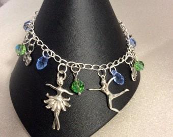 Performing arts charm bracelet