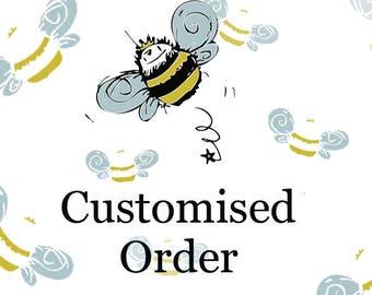 Custom Bridal Shower Doll Brooch Order For Samantha