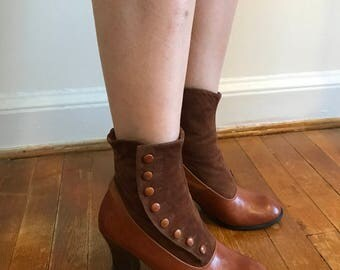 El Dantés Jodphur Victorian Button Up Booties