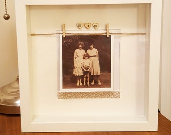Beautiful family handmade frame (wording can be personalised)