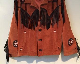 Vintage Fringe Western Jacket