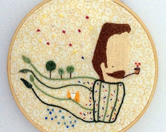 Celeste embroidery