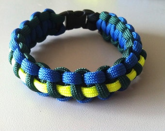 Paracord Bracelet Tri Color