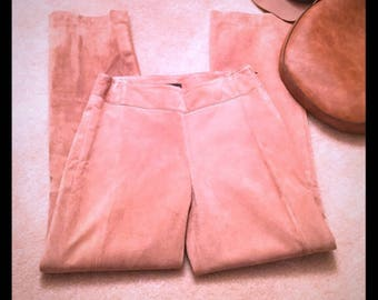 Vintage Women's Suede Pants