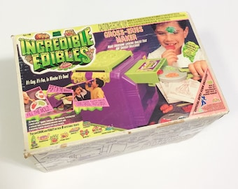 Vintage Incredible Edibles Gross Eries Maker 1994 Toymax Grossout Food Machine