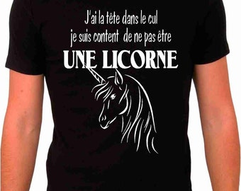"T-shirt ""Unicorn"""