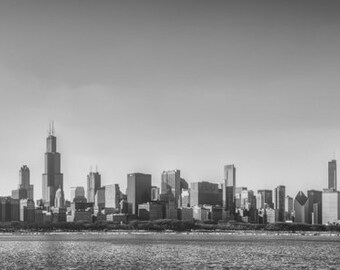 Chicago, IL, USA, United States, Travel Photography, Large Wall Art Print, Panoramic Wall Art