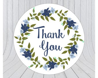 24 x Thank you stickers, thank you labels, Etsy packaging stickers, packaging stickers, packaging labels, wedding stickers, 064