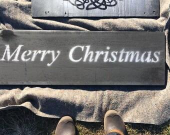 Merry Christmas wall sign