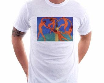 The Dance With Beer Tee, Unisex Tee,Beer Lover Tee, Beer Tee, Beer T-Shirt, Beer Thinkers, Beer Art, Art Lover, Matisse, Altered Art, Beer