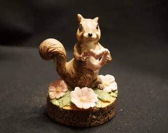"3"" Squirrel Figurine ""Lotsa Love"""