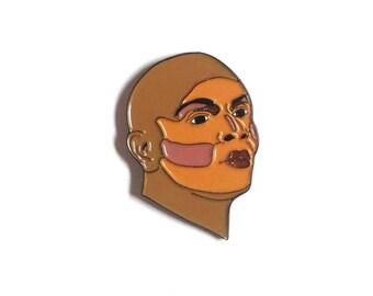 Coco Montrese enamel pin