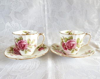 Crown Staffordshire Coffee Cups