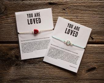 You Are Loved Bracelet - Adjustable