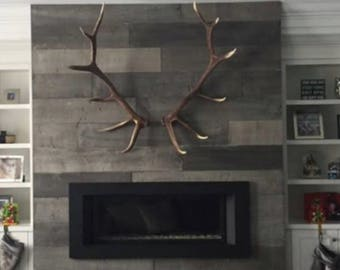 White antlers etsy for Antler decorations for home