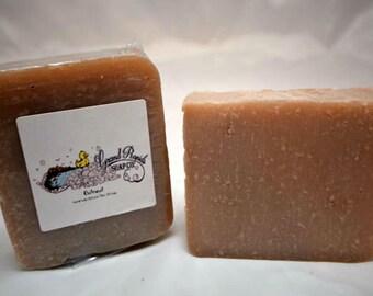 Oatmeal Olive Oil Soap, oatmeal soap, oatmeal scent, natural soap, olive oil soap, vegan soap, artisan soap, oatmeal,  handmade soap