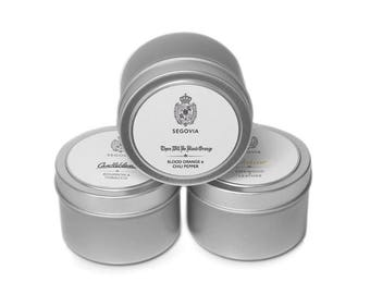 3 Soy Candle Tin Set