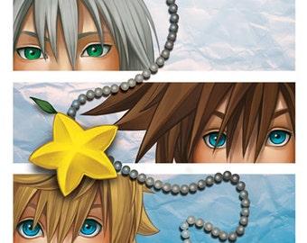 Kingdom Hearts II Poster Print
