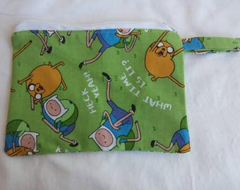 Adventure Time large coin pouch