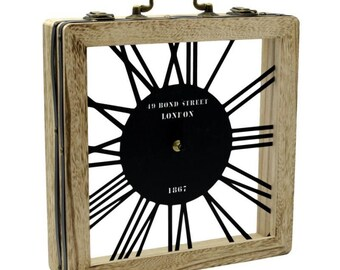 Old Time wooden clock