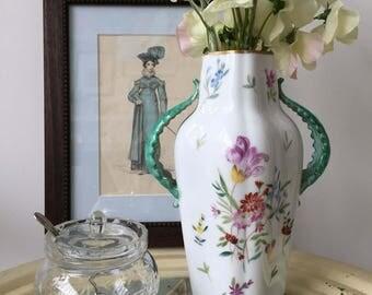 Vintage Hand-painted Rosenthal Vase