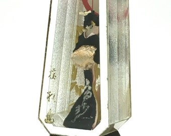 A Vintage Object - Kimono doll - Japan old - Inatori hot spring