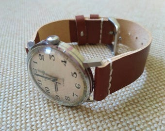 Wostok watch Soviet watch vintage, mechanical movement, made in USSR, watches for men, 1980s.
