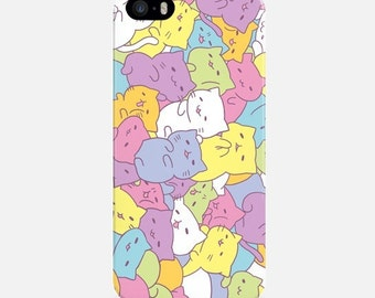Funny Cats iPhone Case, Cute iPhone 6 Case, iPhone 7 Case, iPhone 6 Plus Case, iPhone 5s Case, iPhone 5C Case, Colorful Phone Case