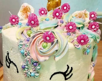 Unicorn cake - for LOCAL delivery only