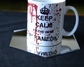 PARAMEDIC GIFT Keep Calm I'm the Best Paramedic Bloody Sublimation Mug. Birthday Gift Perfect For The Clumsy Medical Maestro  You Know !