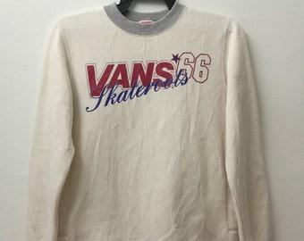 VANS 66 skateroots sweatshirt