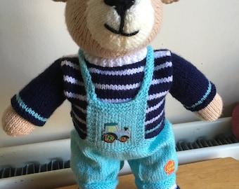 Hand Knitted Teddies